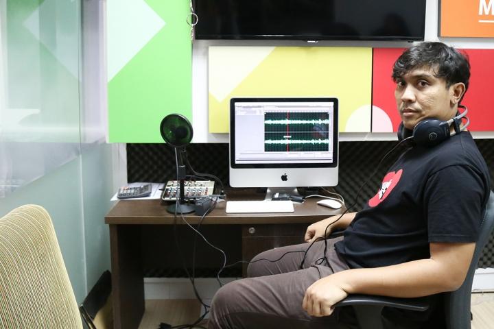 Profesiku: Kurator Musik, Dimas Ario