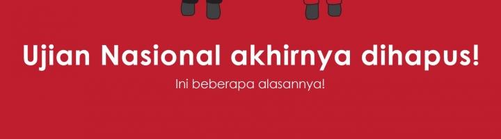 Ujian Nasional Akhirnya Dihapus di 2017!