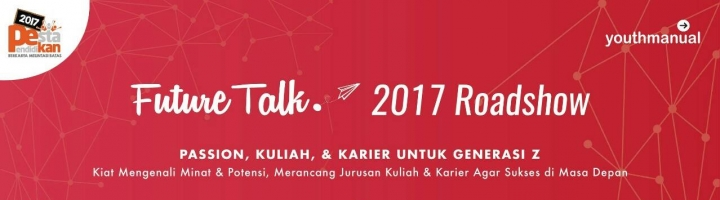 Ini Dia Resep Anti Galau Kuliah dari Para Mahasiswa di Roadshow Youthmanual Future Talk Bandung!
