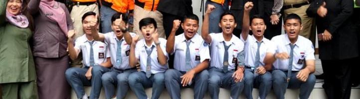 Cerita Pelajar SMAN 6 Bandung yang Mengejar Teroris Pelaku Bom Bandung