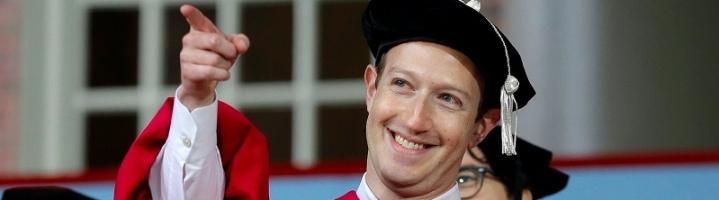 Pidato Mark Zuckerberg di Wisuda Harvard University dan Pesan Penting Untuk Anak Muda