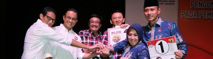 #PilkadaDamai: Kumpulan Foto Adem dan Seru Pilkada DKI Jakarta