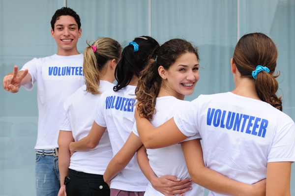 networking through volunteering