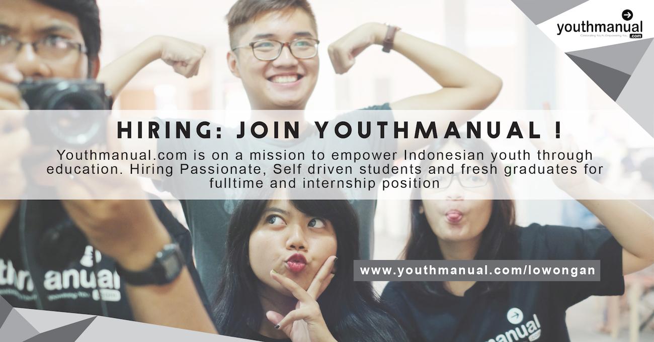 Lowongan Youthmanual