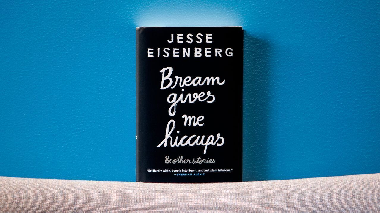 jesse eisenberg bream gives me hiccups