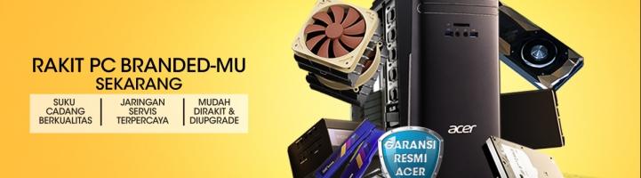 Mau Rakit PC Desktop Sesuai Kebutuhan Dengan Segala Kelebihan PC Desktop Branded? CreAcer-in Aja!