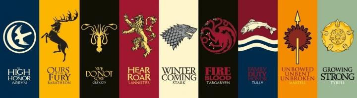"""""""Rumah"""" Game of Thrones Mana yang Paling Cocok Dengan Kepribadian Kamu?"""