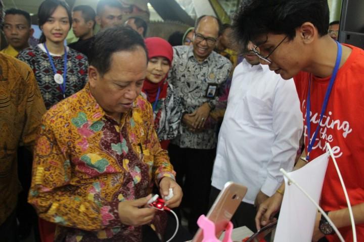 Yuk Intip Karya dan Inovasi Kece Mahasiswa Telkom University Di Indonesia Science Day 2018!