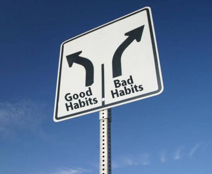 kebiasaan baik atau buruk