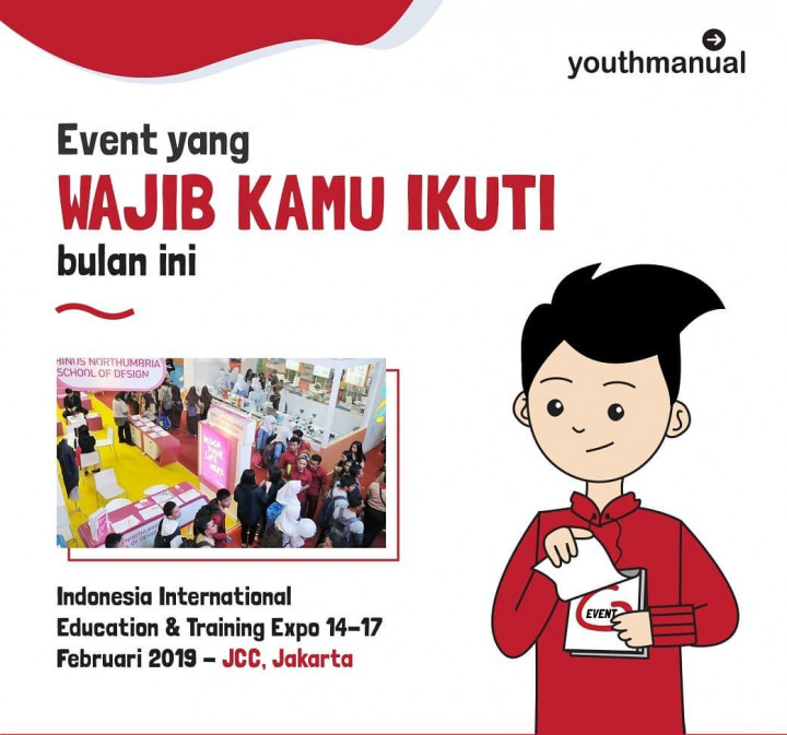 Indonesia International Education and Training Expo 2019