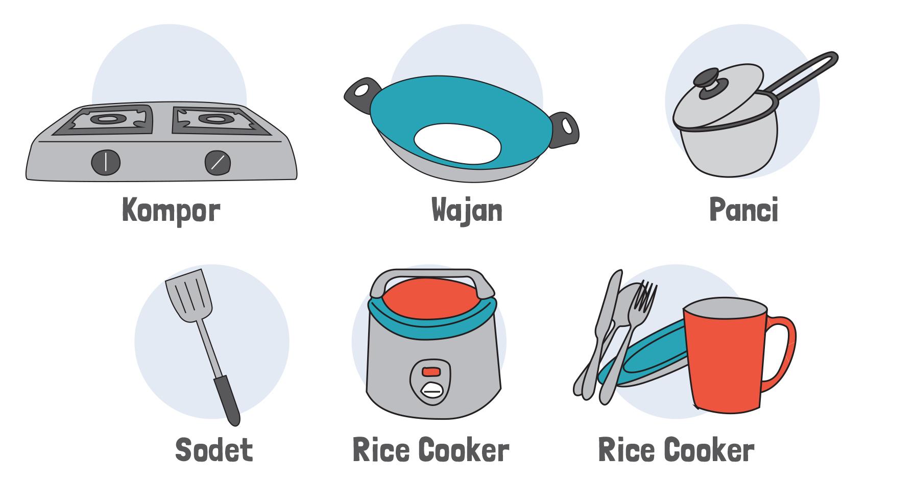 Tapi Kalau Kostan Kamu Nggak Memiliki Fasilitas Dapur Bersama Atau Menyediakan Peralatan Masak Yang Lengkap Bisa Contek Daftar