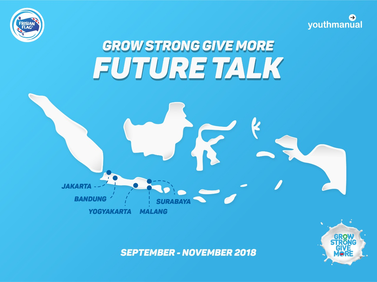 grow strong give more future talk 2018