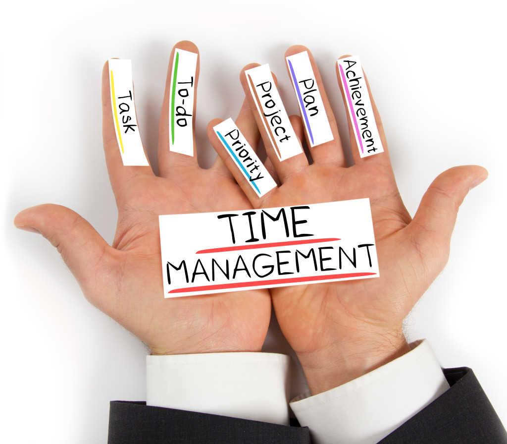 tidak menggunakan waktu secara maksimal
