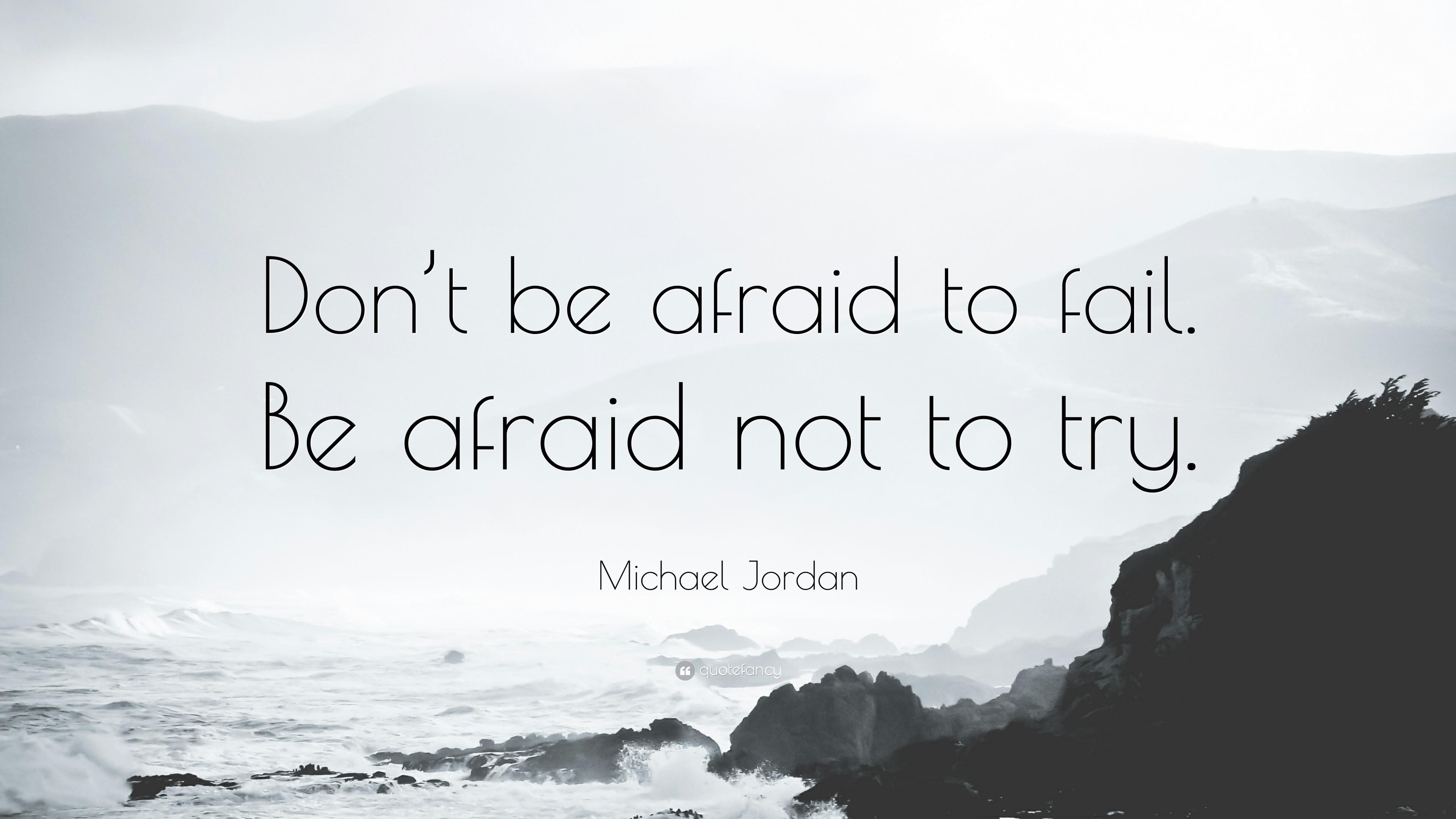 Jangan pernah takut salah