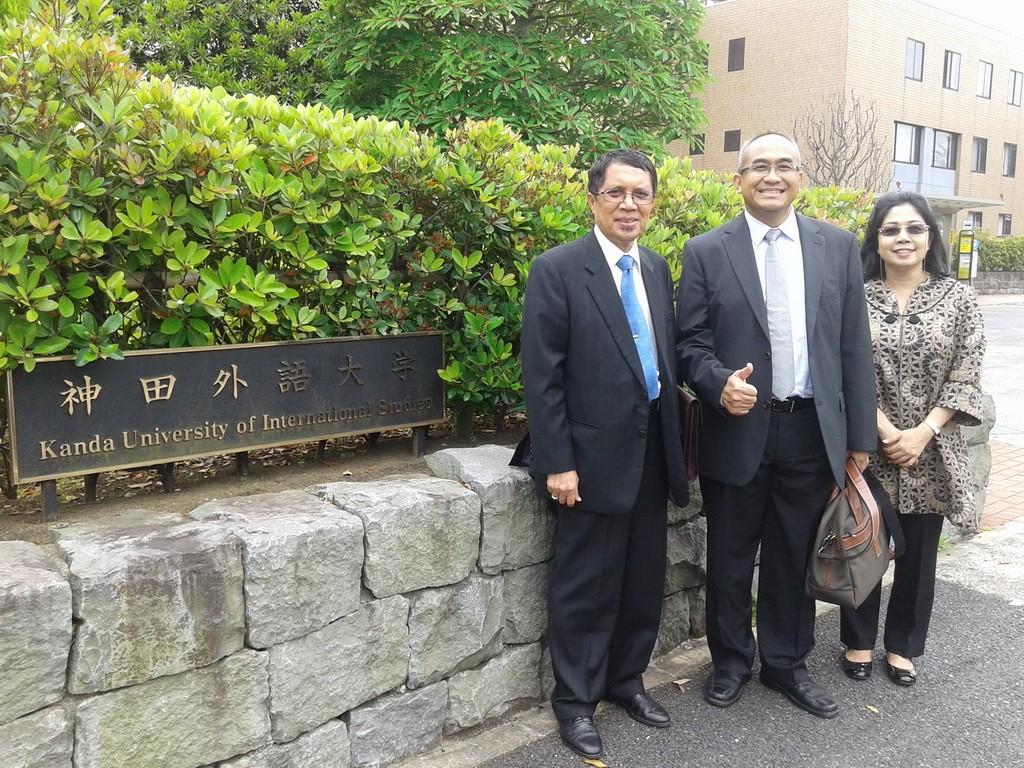 Kanda University of International Studies, Jepang