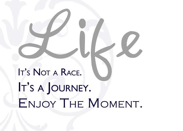 hidup bukan balapan