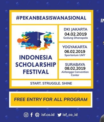indonesia scholarship festival