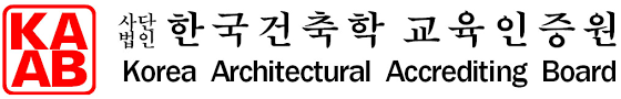 Korean Architectural Accrediting Board KAAB ITB